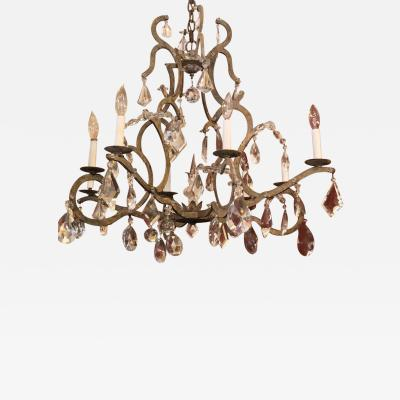 Dennis Leen Dennis and Leen Chateau French Crystal Chandelier