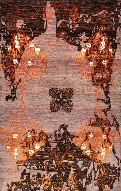 Derakhte Anar 2a NOV24 Studio for Zollanvari Super Fine Gabbeh Wool Silk