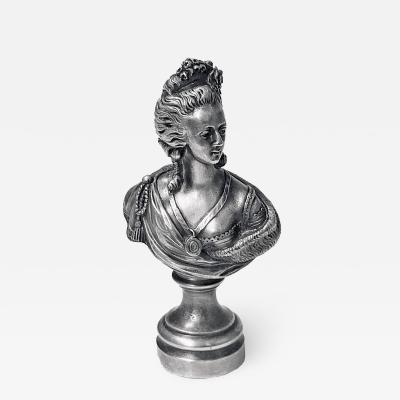 Desk Seal silver on bronze probably French C 1880