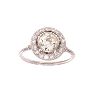 Diamond Platinum Engagement Ring