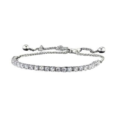 Diamond Tennis White Gold Bracelet