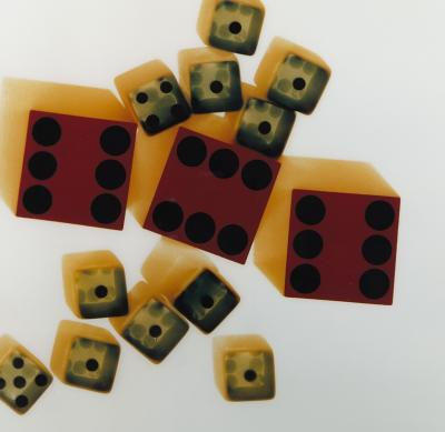 Dice Photograph by Adam Forgash
