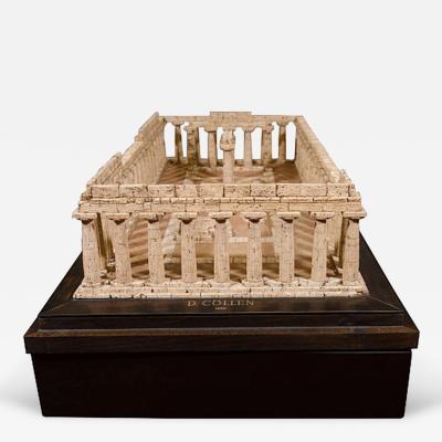 Dieter C llen A Cork Model of the Temple of Hera at Paestum by Dieter C llen 1999