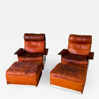 Dieter Rams Dieter Rams 620 Armchairs with Ottomans