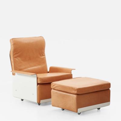 Dieter Rams Dieter Rams 620 armchair footstool Vitsoe 1962