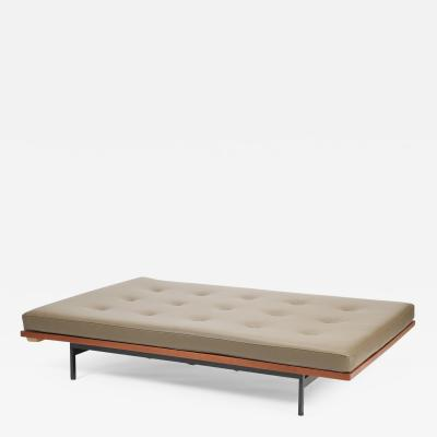 Dieter Waeckerlin Dieter W ckerlin XL day bed 60s leather pillow