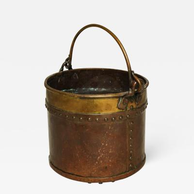 Diminutive Copper and Brass Bucket