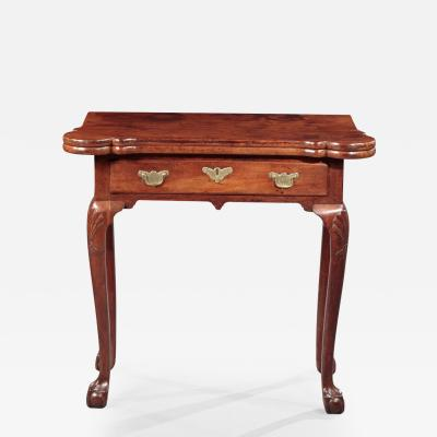 Diminutive Queen Anne Card Table