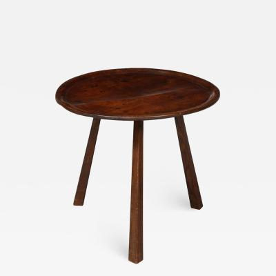 Diminutive Sycamore Cricket Table