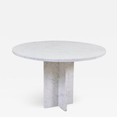 Dining Table in Marble Italy 1970s