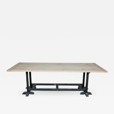 Dining Table with Antique Base