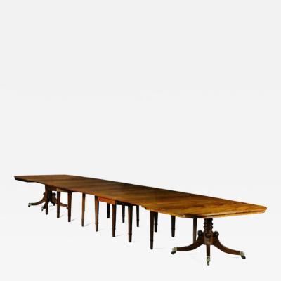 Dining table from Durham Cathedral