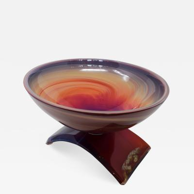 Dino Rosin Rainbow Bowl by Dino Rosin