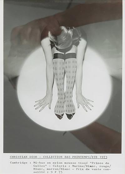 Dior photograph 1973 framed
