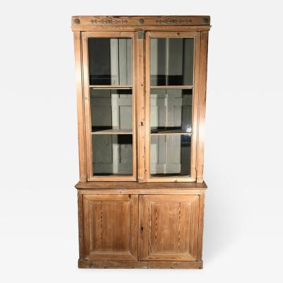 Directoire Bookcase in Pine French circa 1800