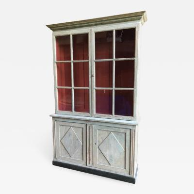 Directoire Painted Bookcase circa 1800