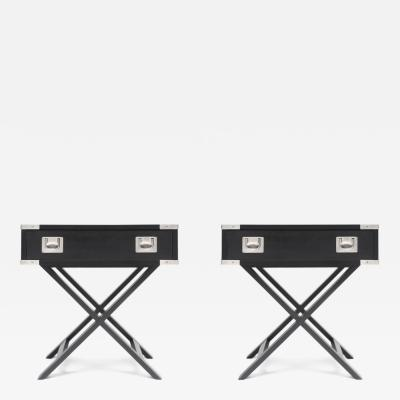 Director Style Side Tables