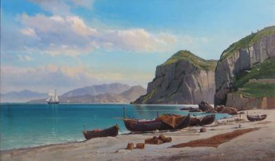 Charles Temple Dix Marina Grande Capri