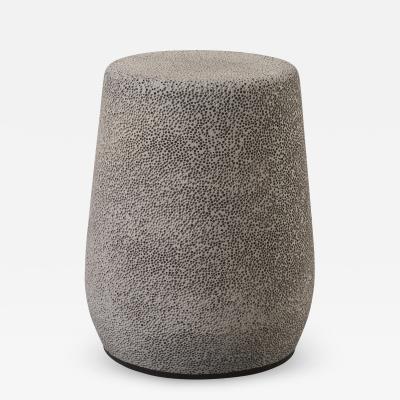 Djim Berger Lightweight Porcelain Stool and Side Table