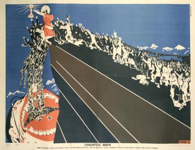 Dmitry Moor ON SALE Russian Propaganda Poster by Dmitry Moor