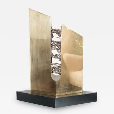 Dolly Moreno Abstract Magnetic Sculpture