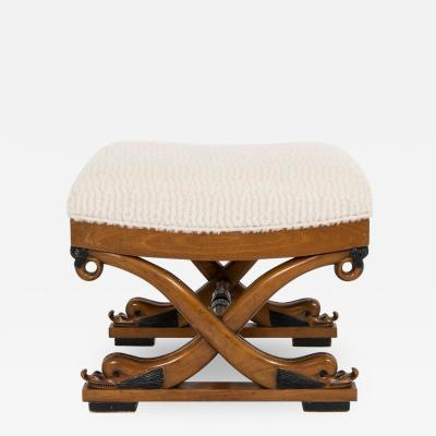 Dolphin Curule Bench