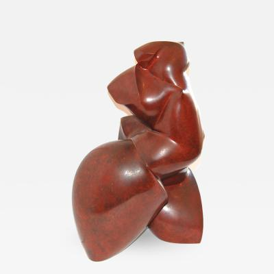 Dominique Polles Nude Bronze Sculpture 2 4
