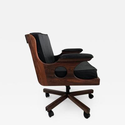 Don Shoemaker A desk chair on castor Don Shoemaker Mexican Modern