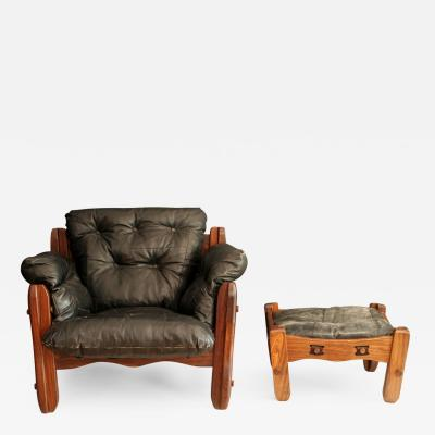 Don Shoemaker Descanso Armchair with Ottoman