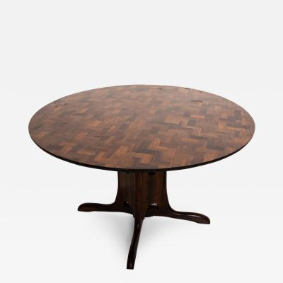 Don Shoemaker Don Shoemaker Cocobolo Dining Table Mid Century Mexican Modernist
