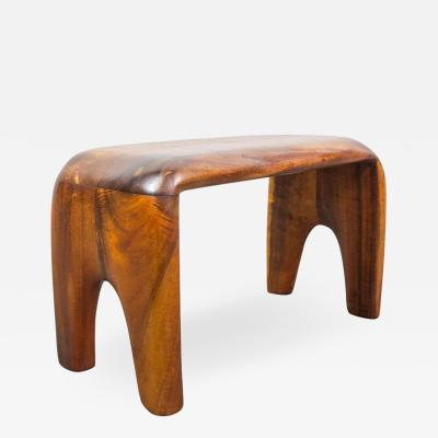 Don Shoemaker Handcrafted Studio Stool or Bench by Mexican Mid Century Modernist Don Shoemaker