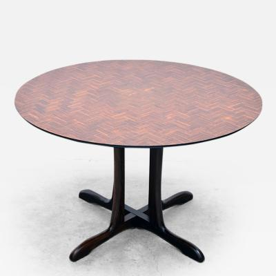 Don Shoemaker Round Dining Table