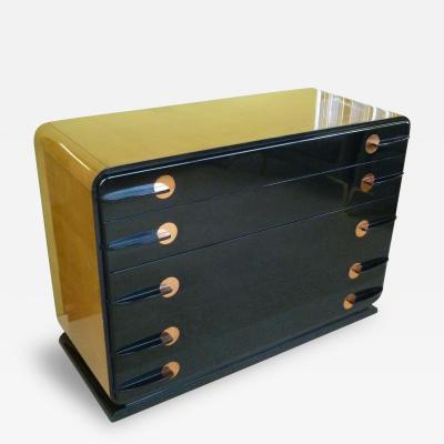 Donald Deskey Donald Deskey Style Streamline Art Deco Cabinet