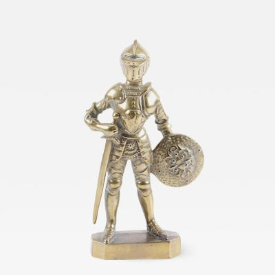 Doorstop in the form of a Medieval Knight