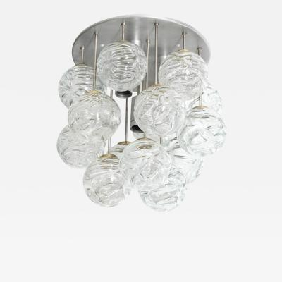 Doria Leuchten Glass Lollipop Flush Mount by Doria