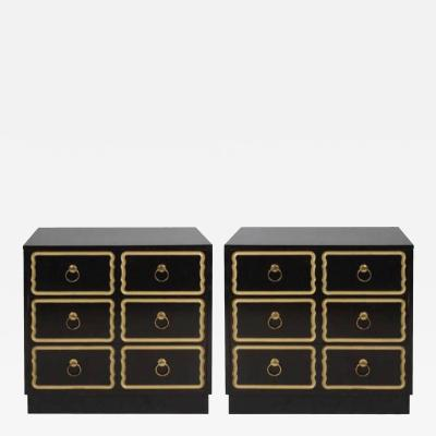 Dorothy Draper CHESTS OR NIGHTSTANDS IN THE MANNER OF DOROTHY DRAPER
