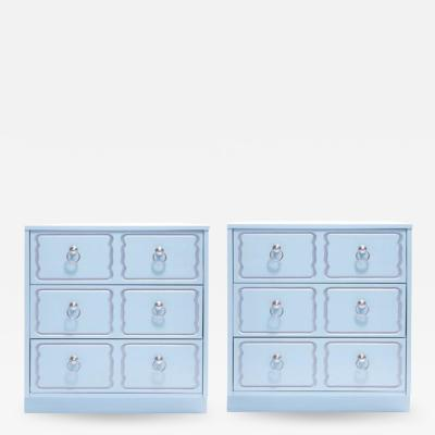 Dorothy Draper Dorothy Draper Espa a Style Pair of Nightstands Customizable in Any Color