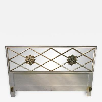Dorothy Draper Lovely Dorothy Draper style Lattice Kingsize Headboard Regency Modern
