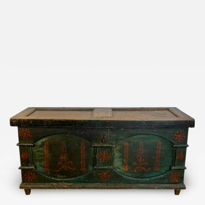 Dowry Chest American Circa 1810