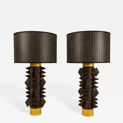 Dragonette Limited Pair of Titia Table Lamps by Dragonette Private Label