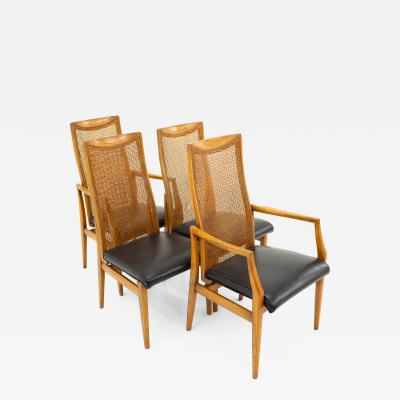 Drexel Mid Century Dining Chairs Set of 4