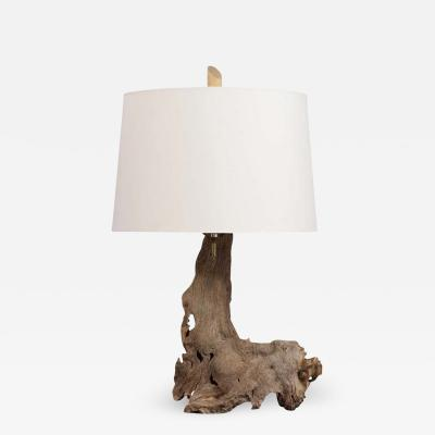Driftwood Table Lamp circa 1950