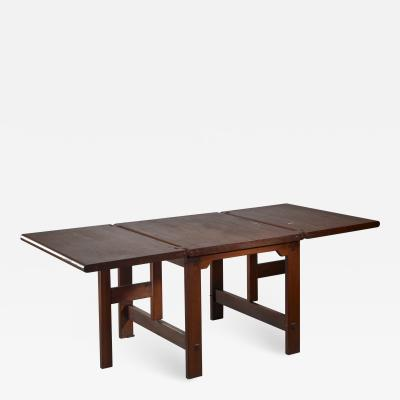Drop leaf dining table Dutch design