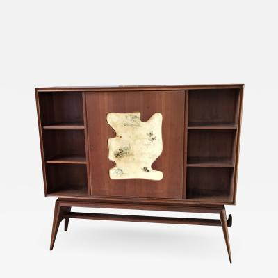 Dry Bar Book Case Cabinet