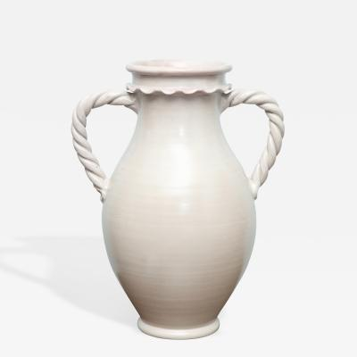 Duca di Camastra Large Scale Two Handled Urns by Duca Di Camastra Studio