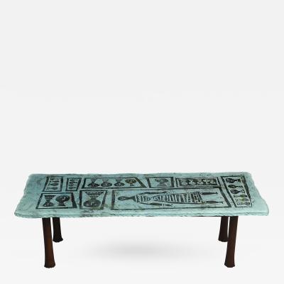 Duilio Dube Barnab Rare Cocktail Table by Duilio Barnab for Fontana Arte