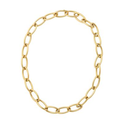Duke Fulco Vedura Verdura Open Chain Gold Necklace Bracelet
