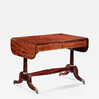 Duncan Phyfe CLASSICAL SOFA TABLE Attributed to Duncan Phyfe