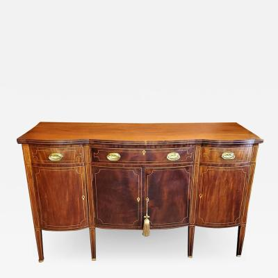 Duncan Phyfe Early 19th Century American Sheraton Sideboard Attributable to Duncan Phyfe