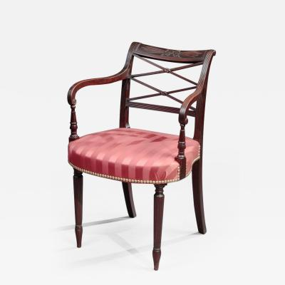 Duncan Phyfe FEDERAL ARMCHAIR Attributed to Duncan Phyfe